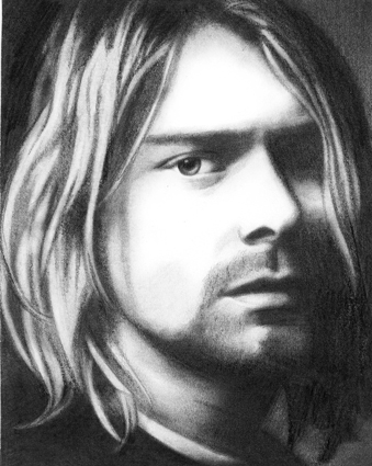 Kurt Cobain por nosferatu